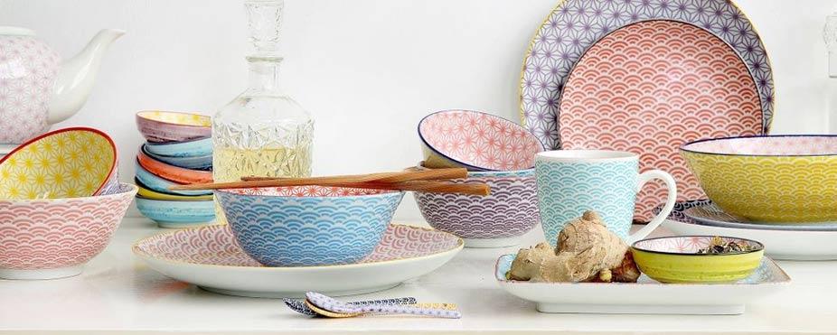 vajilla personalizada de porcelana tokyo design star wave regalos para bodas